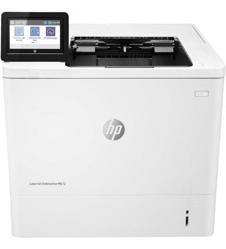 Impresora Láser Monocromo HP Laserjet Enterprise M612DN Dúplex/ Blanca