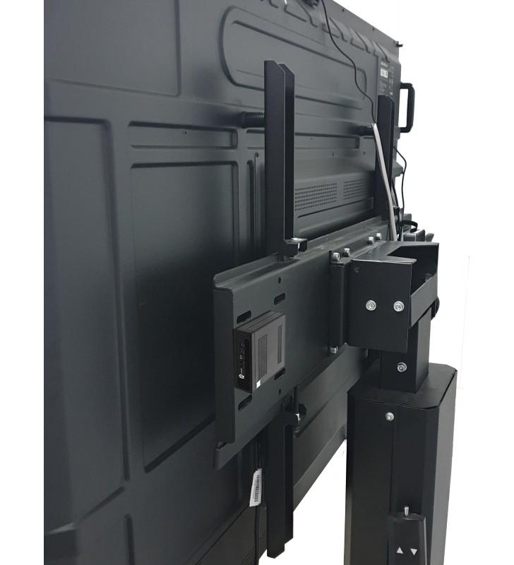 BUNDLE SMART Board MX265-V2 + HP ELITEDESK 800 G2 Mini Business Back Soporte