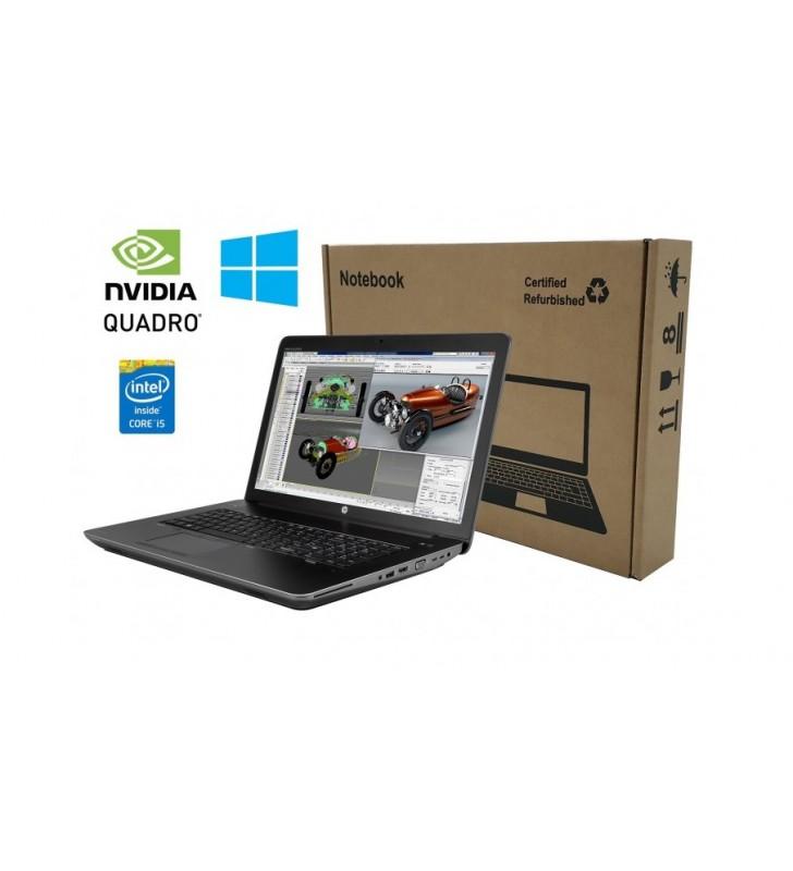 "HP PORTATIL HP ZBOOK 17 G3 I5-6440HQ 32GB RAM 1TB HD 17.3"" FULL HD WIN 10 PRO WEBCAM OCASION"