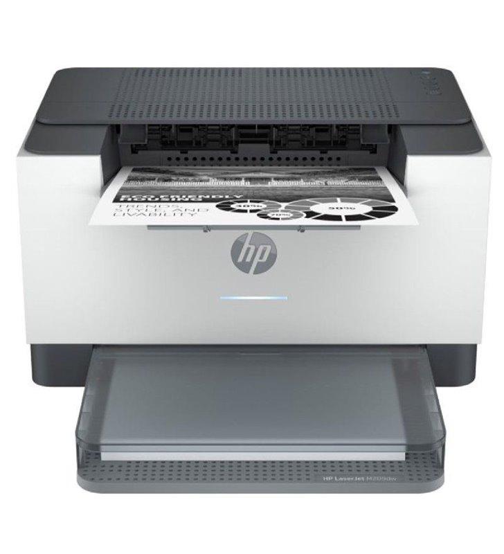 Impresora Láser Monocromo HP Laserjet M209dwe WiFi/ Dúplex/ Blanca
