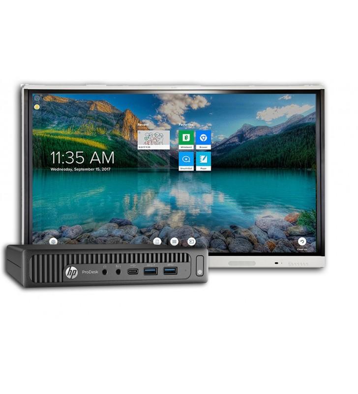 BUNDLE SMART Board MX286-V2 + HP PRODESK 600 G2 Mini Business WIN 10 Educacion