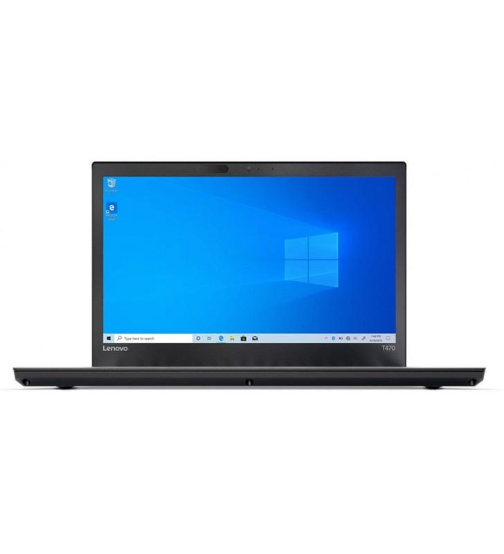 "Lenovo PORTATIL LENOVO THINKPAD T470 I5-7300U 8GB SSD 256GB 14"" FULL HD WIN 10 PRO EDU WEBCAM OCASION"