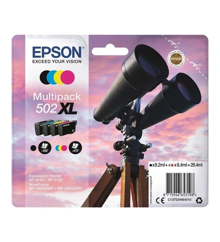 Cartucho de Tinta Original Epson nº502XL Multipack/ Negro/ Cian/ Magenta/ Amarillo