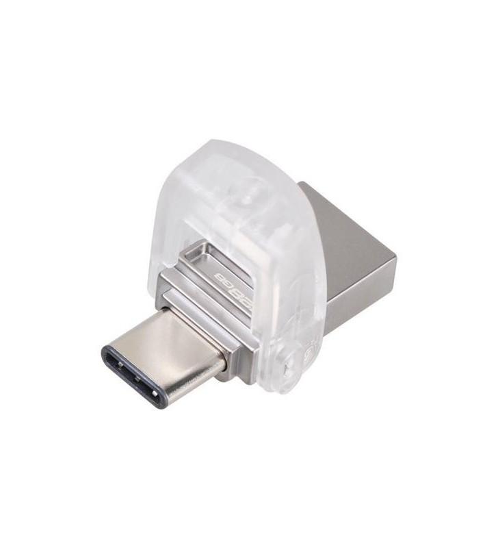 Pendrive 128GB Kingston DataTraveler MicroDuo 3C USB 3.0/ USB Tipo-C Reverse