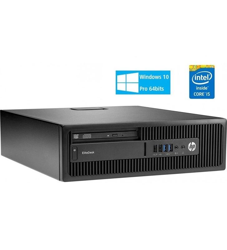 HP HP ELITEDESK 800 G1 I5-4590 16GB SSD 256GB DVD SFF WIN10 PRO EDUCACION OCASION