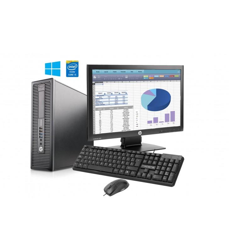 "HP PACK Ordenador HP ELITEDESK 800 G1 WIN 10 PROF. 64BIT EDUCACION + Pantalla HP 20"" P202 + Teclado y Ratón TACENS ANIMA - OC..."