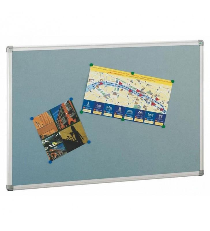 Tablero de corcho solido tapizado 90x150
