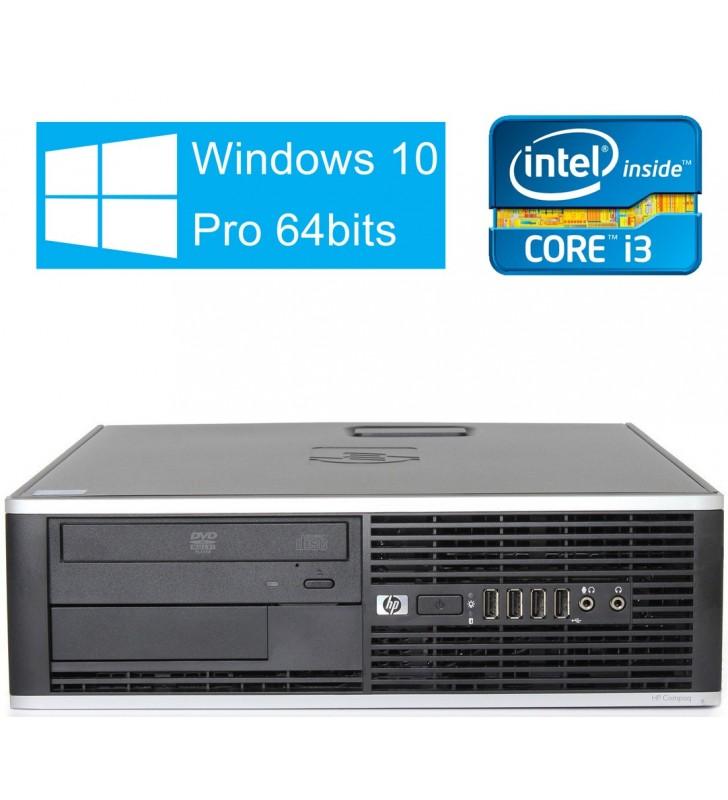 HP 6300 PRO CORE I3-3220 4GB 500GB (SIN DVD) SFF WIN10 PRO EDUCACION OCASION