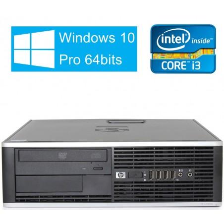 HP 6300 PRO CORE I3-3220 4GB 250GB SFF WIN10 PRO EDUCACION OCASION